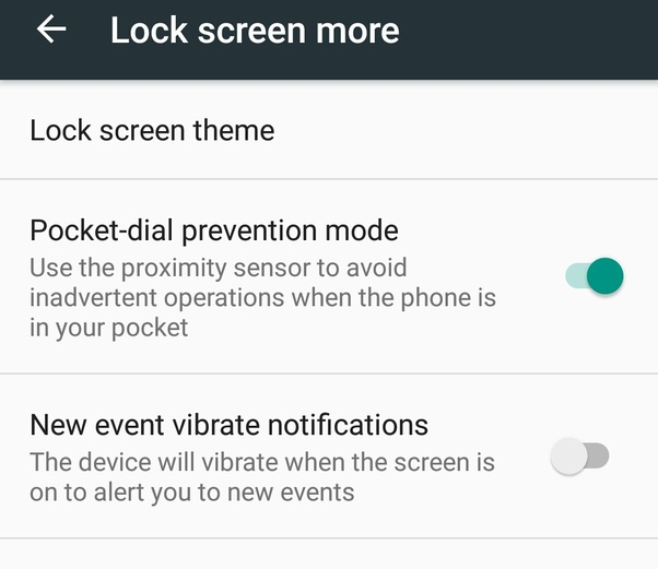 How to turn off vibration on Android when you switch the