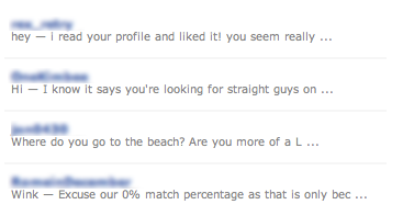 Good first lines on dating sites