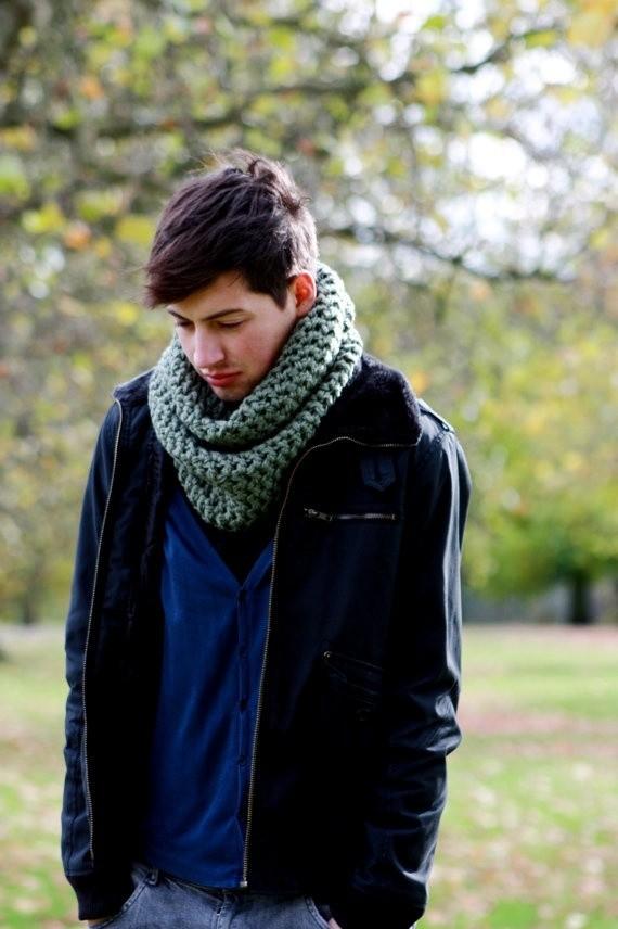 mens cashmere men scarf infinity