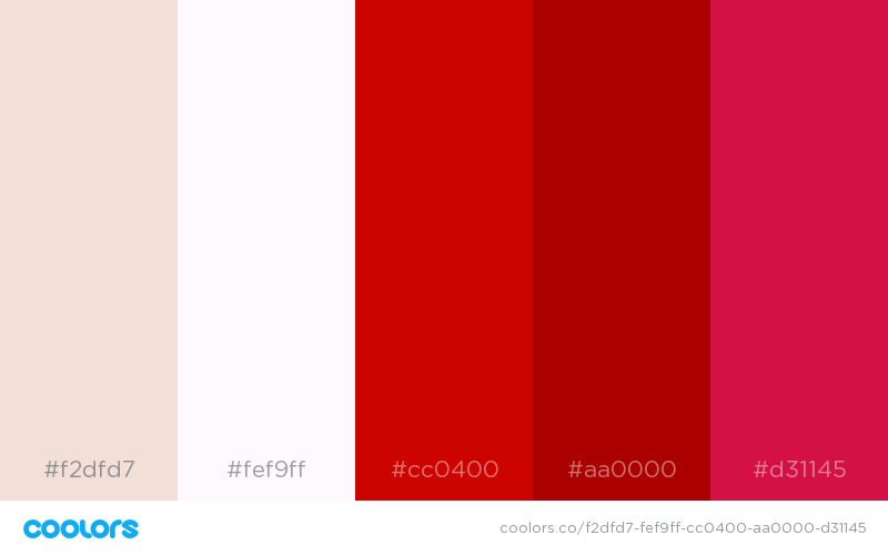And Of Course Red White Would Go Well With Other Hues Shades