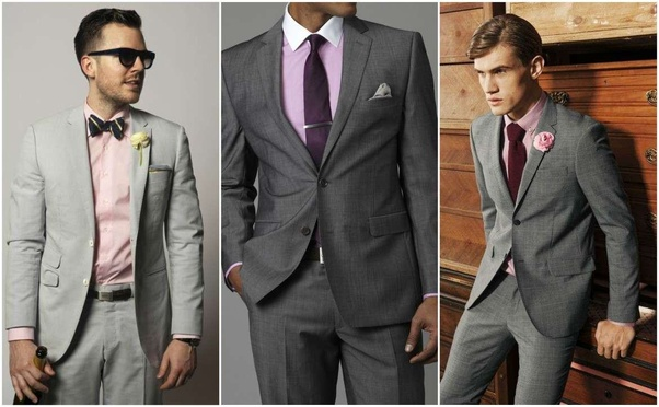 What shirt color goes with ash suite? - Quora