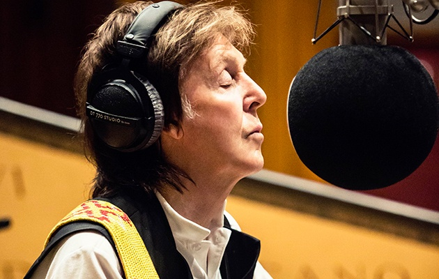 What is the motive behind Paul Mccartney to continue singing