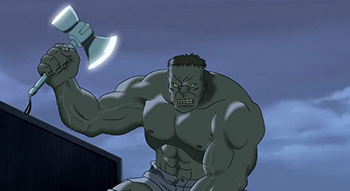 what would happen if thor placed his hammer on hulk quora
