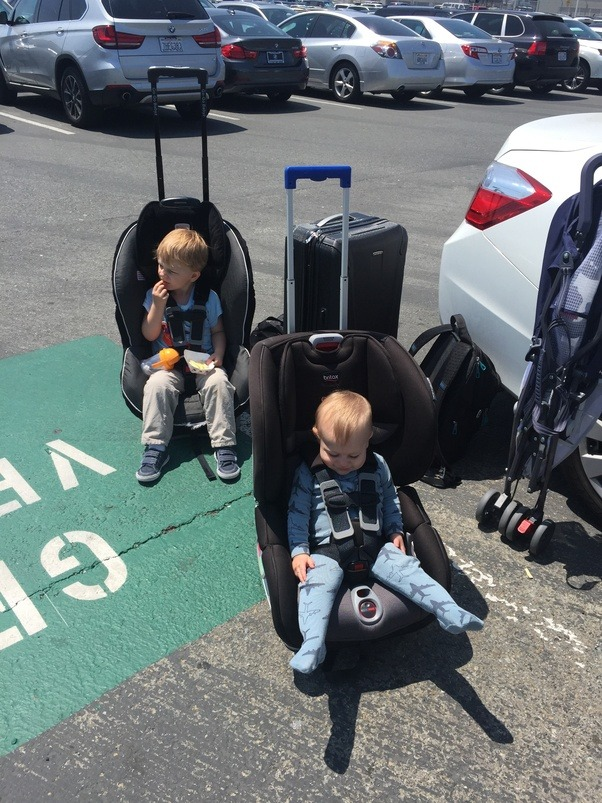 What are some tips/tricks for traveling with a baby? What makes ...