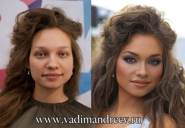 what are some before and after pictures of contouring makeup quora