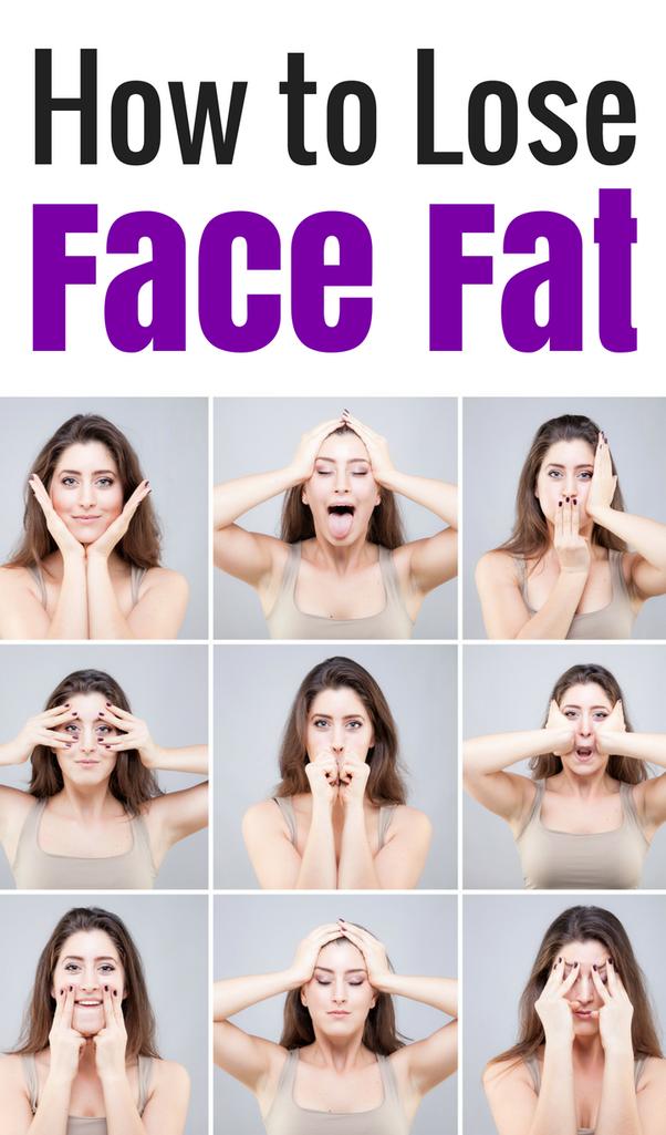 losing face fat diet