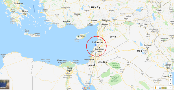 Where is beirut lebanon locates at on a map of the world quora this is a closer look at the middle east where lebanon is located other countries in the middle east include syria israel jordan iraq and iran publicscrutiny Gallery