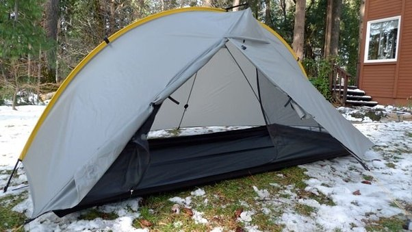 Iu0027ve used it in rain on top of snow (very rarely) and quite often above 10000 feet (3km) in elevation. The single-wall construction meant I had some ... & Whatu0027s the best one person tent to set up during heavy rain? - Quora