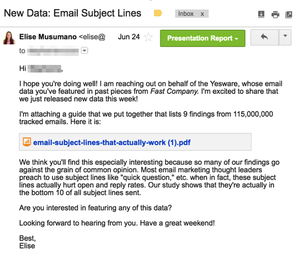 What Are Some Good Follow Up Email Subject Line Examples