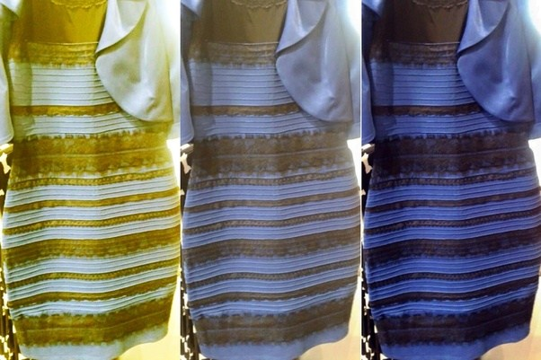 Gold and white dress test