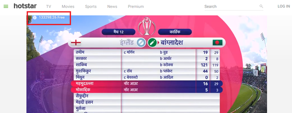 How to watch IPL live in Hotstar without a premium - Quora