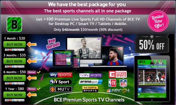 What is the best way to watch Champions League games on the web? I