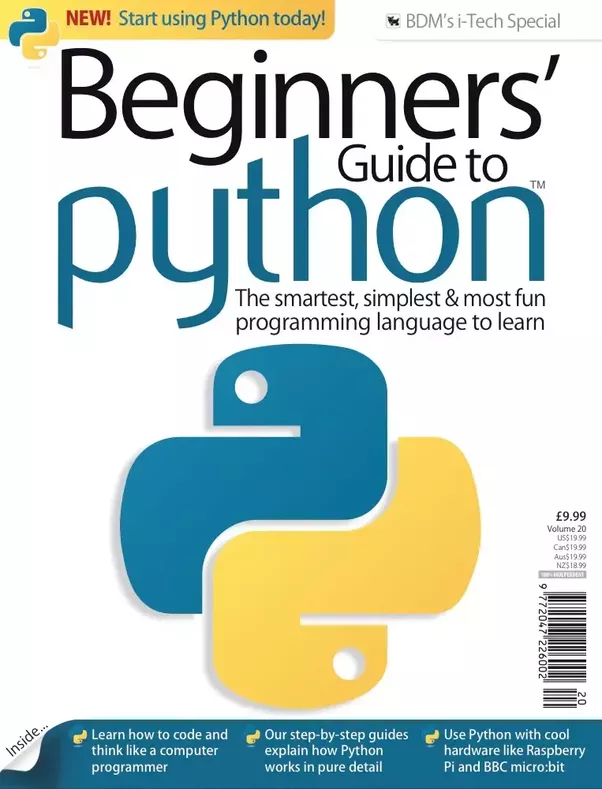 Which is the best book for learning python for absolute ...