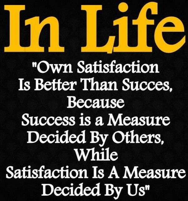 is money a true indicator of the success of a business