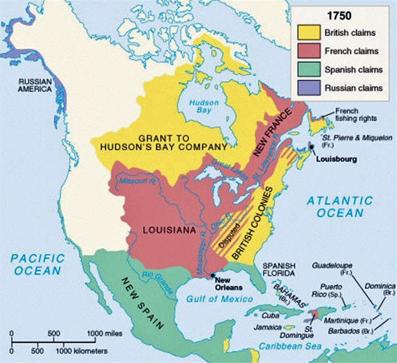 Might The French Have Secured Their North American Colonies With
