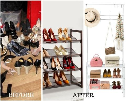 What Are The Best Space Saving Ways To Store Shoes? How About A Shoe Rack?  If You Have Extra Space, Hall Tree Coat Racks And Umbrella Stands Will Give  Your ...