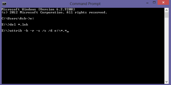 command prompt shortcut keys pdf