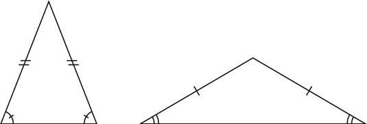 How Can An Isosceles Triangle Be Considered Obtuse