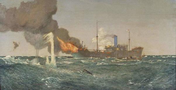 kapal britannic atau britania saat teggelam pada tahun 1917 dan john priest ada di dalamnya