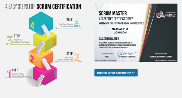 How is scrumstudy.com and scrum-institute.org certifications in term ...