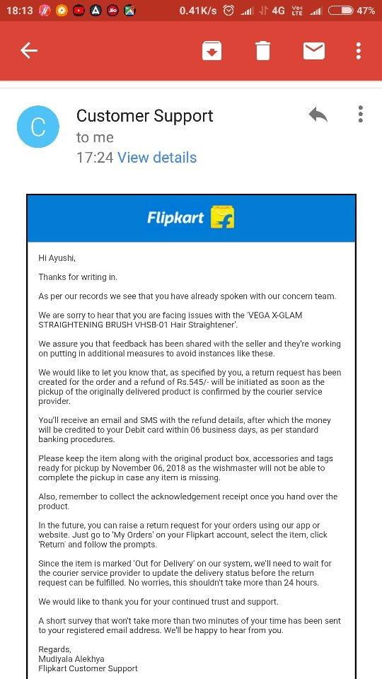 What was your worst Flipkart experience? - Quora