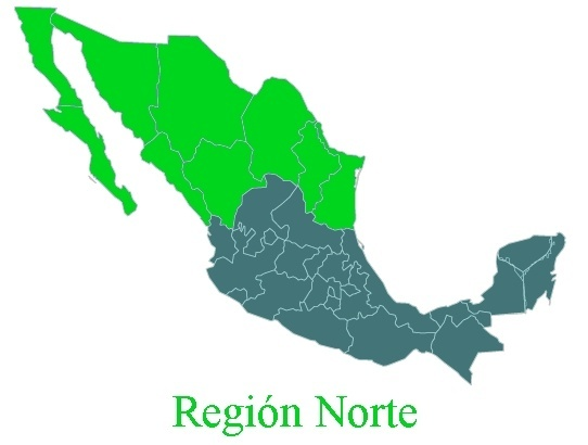 commonly refered as el norte northern mexico is a cultural and geographical area in mexico composed by the states of baja california baja california sur