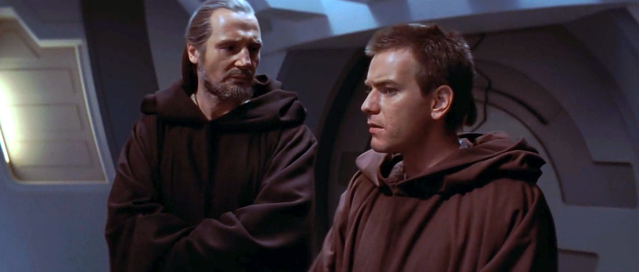 Image result for qui gon obi wan