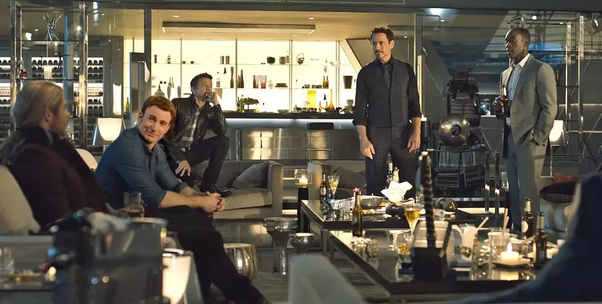 What is something you noticed in Avengers: Endgame that you believe