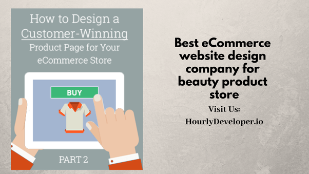 Which is the best eCommerce website design company for