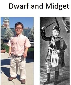 Midget definition height