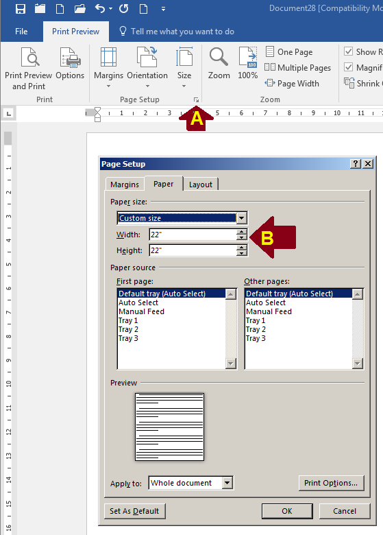 How To Fit Really Big Tables In Microsoft Word