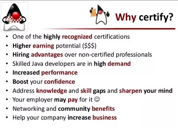 Is Java certification needed for a job? - Quora