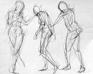 Is gesture drawing a good way of studying anatomy? - Quora
