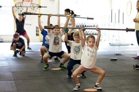 Weightlifting Teens and Children