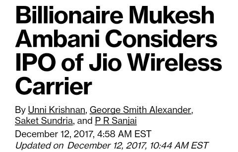 Reliance Jio IPO