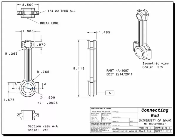 how is a connecting rod manufactured quora rh quora com Rods and Cones Diagram Rod Diagram Stats