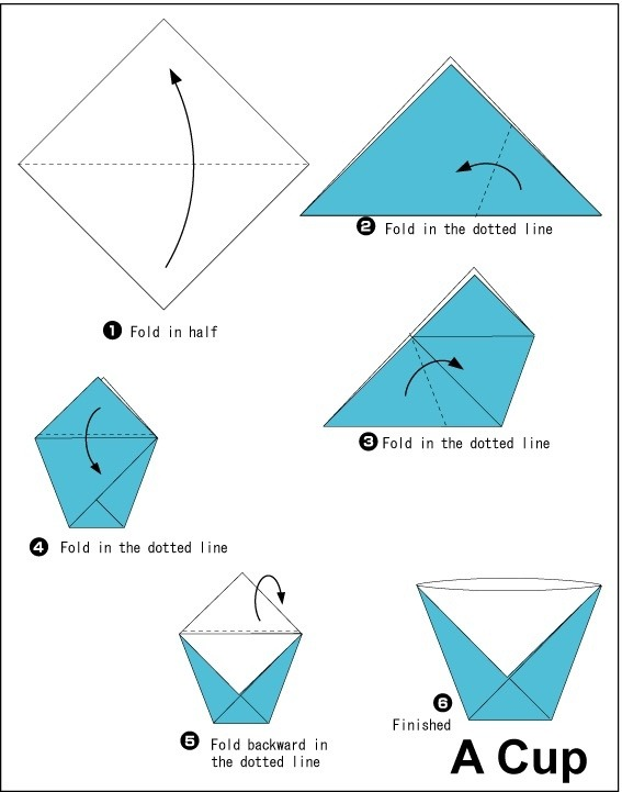 What are some really simple things to do with origami for How to make things from paper folding