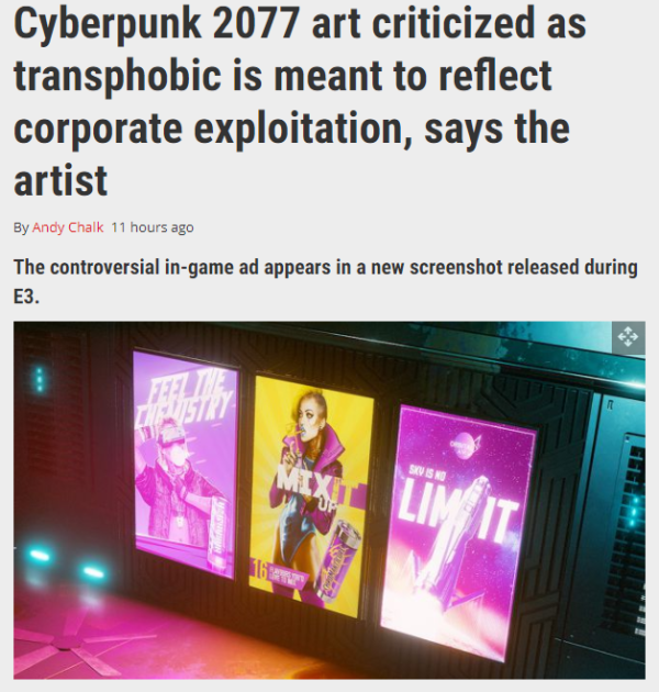 Why is there suddenly so much backlash against CDPR and