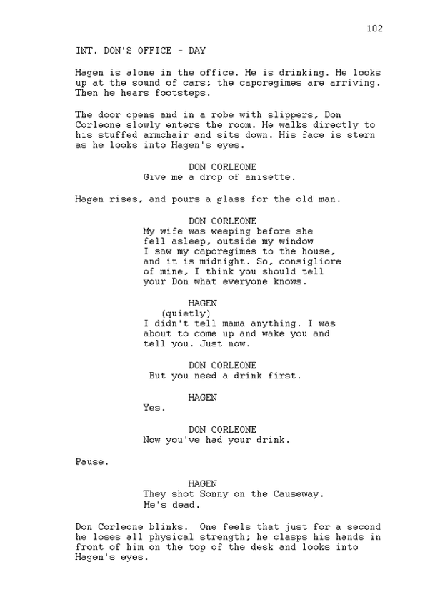 what is the official hollywood format of a screenplay quora