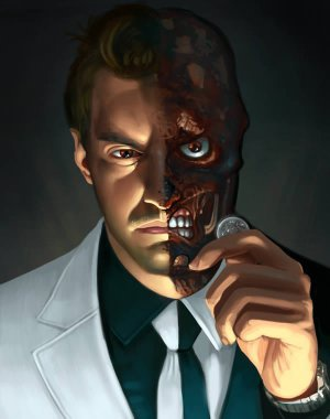 face two face