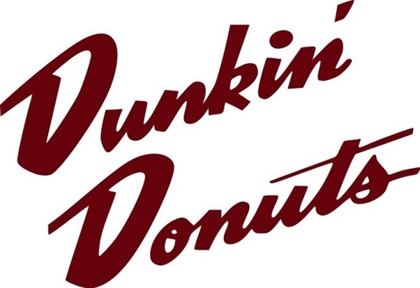 why is the dunkin donuts logo a coffee cup quora