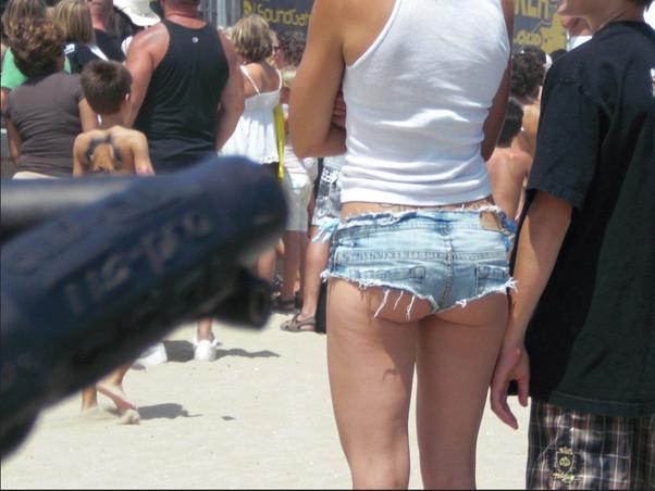 Ass shorts Big short