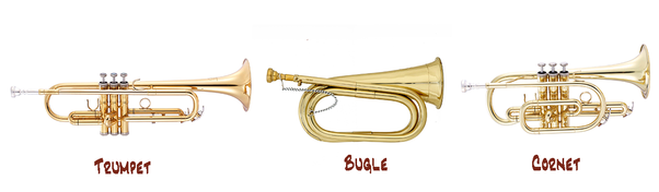 Is the trumpet easier than the bugle because it has helpful