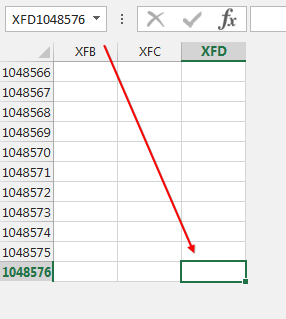 What is the maximum number of columns & rows in Excel ...