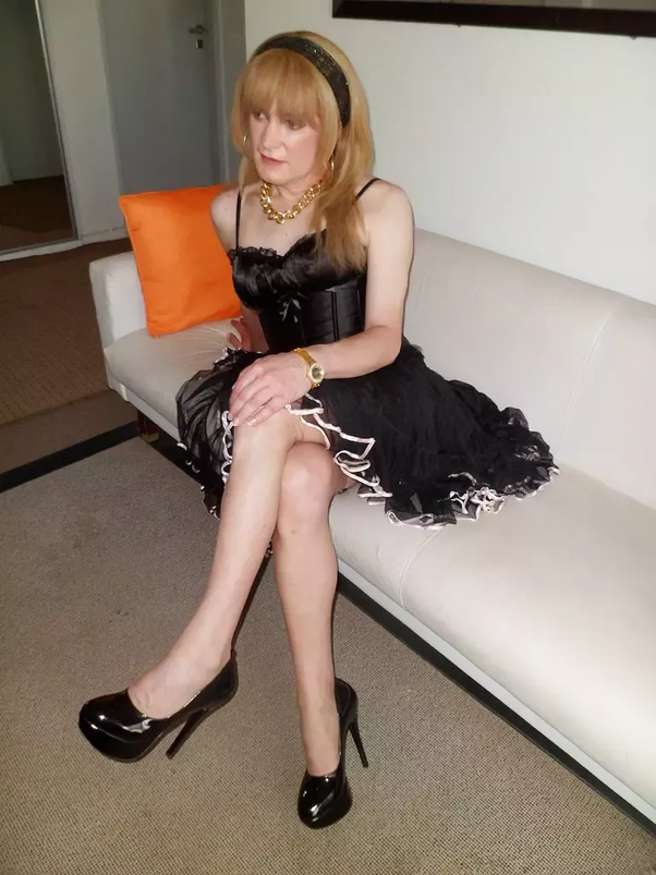 Older crossdresser