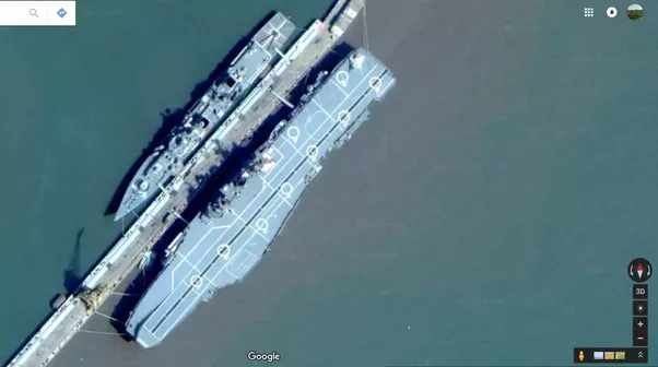 Can we see Navy ships on Google Maps? - Quora