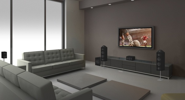 Great Neither A Sound Bar, Nor Any Other Sound Systems Like A 2.1 Channel Stereo  Setup Can Match The Sound Quality Produced By A Home Theatre System.