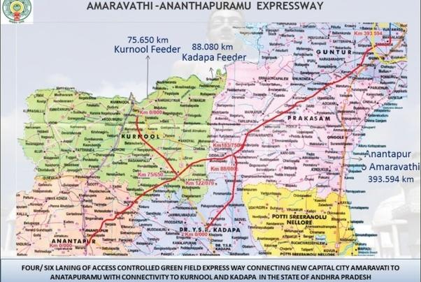 Roadmap Of Andhra Pradesh on