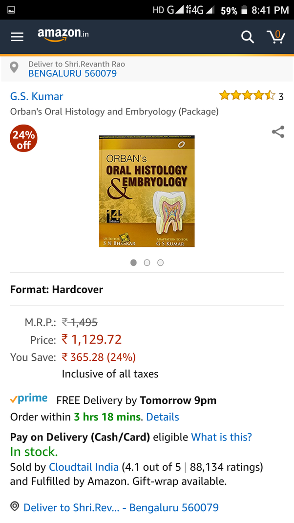Which Authors Book Should Be Referred In Bds 1st Year Quora