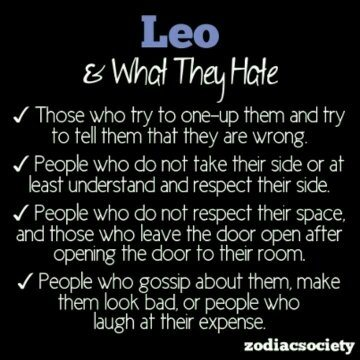 Who are leos not compatible with